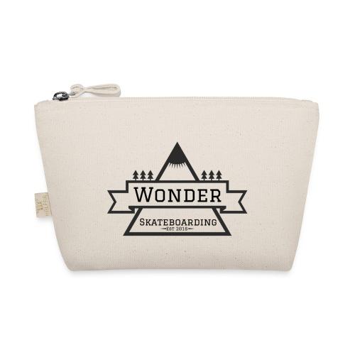 Wonder hoodie no hat - Mountain logo - Små stofpunge