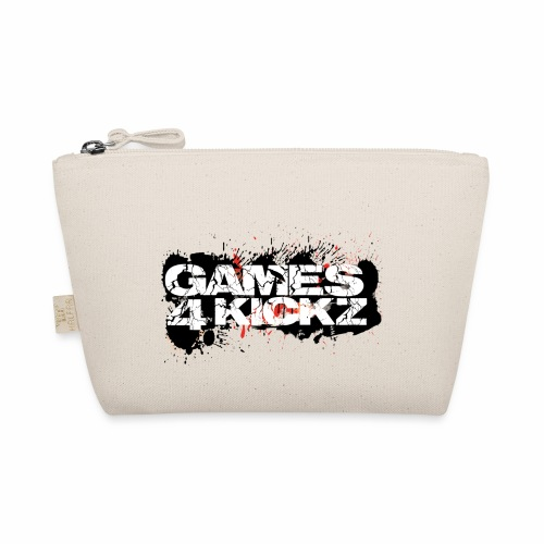 Games4Kickz Logo Splattered Background - The Wee Pouch
