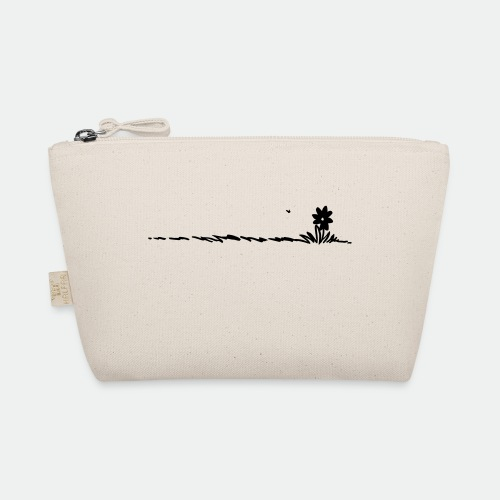 Cartoon Flower on grass - The Wee Pouch