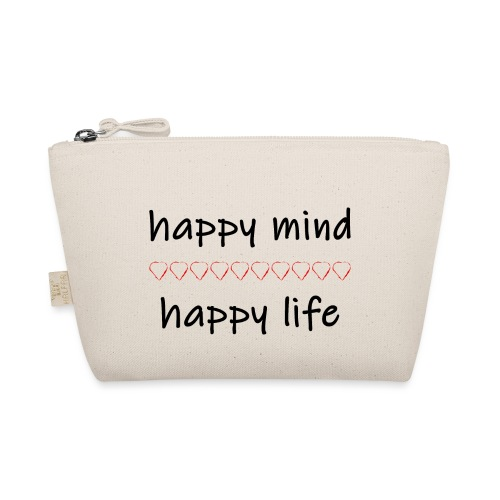happy mind - happy life - Täschchen