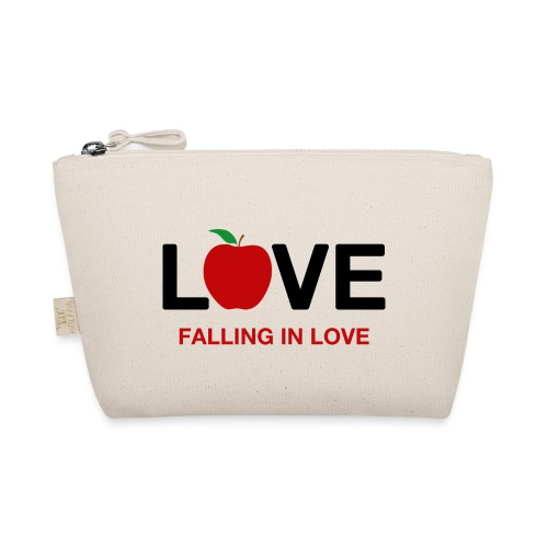 Falling in Love - Black - The Wee Pouch