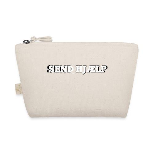 SEND HJÆLP T-shirt - Små stofpunge