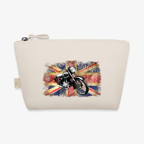 Vintage famous Brittish BSA motorcycle icon - The Wee Pouch