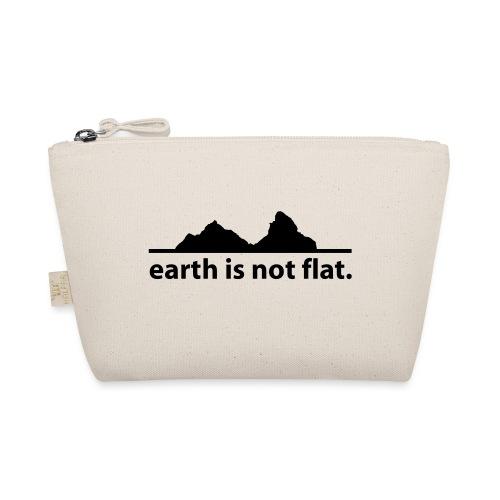 earth is not flat. - Täschchen