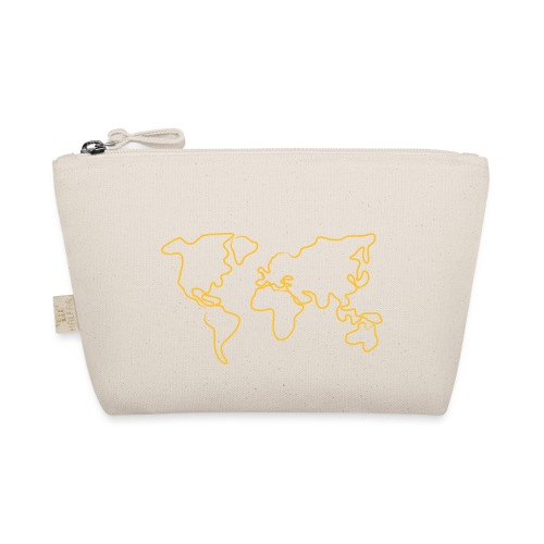 Wereldkaart - Tasje