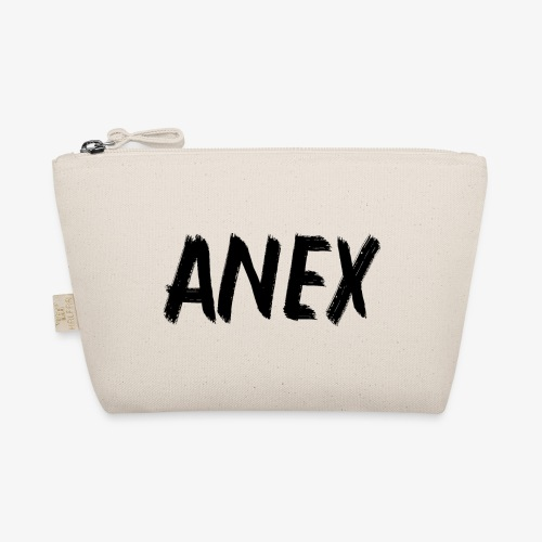 V-neck T-Shirt Anex black logo - The Wee Pouch