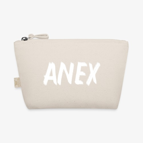 V-neck T-Shirt Anex white logo - The Wee Pouch