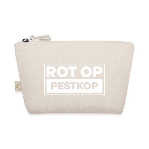Rot Op Pestkop - Block White - Tasje