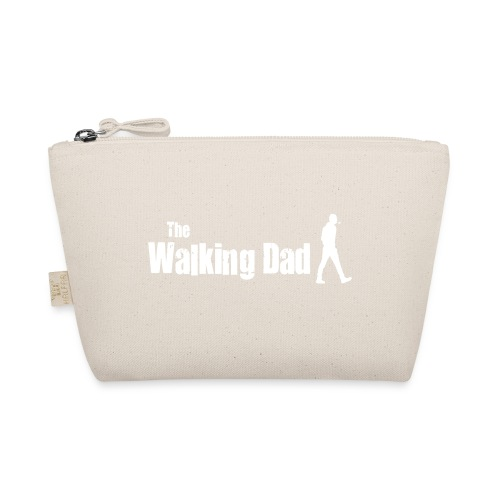 the walking dad white text on black - The Wee Pouch