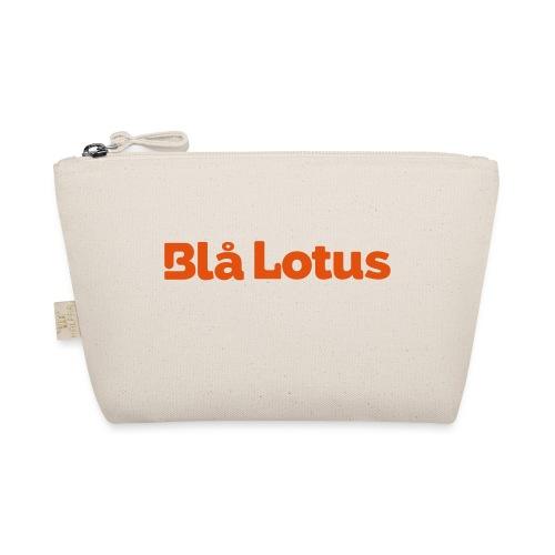 BHlå Lotus lång logga - Liten väska