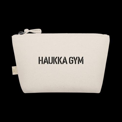 HAUKKA GYM text - Pikkulaukku