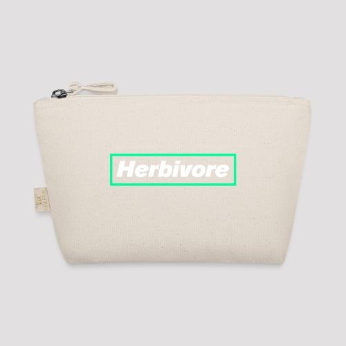 Herbivore Logo White - Borsetta