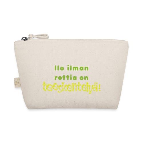 Ilo ilman rottia - vihreä - Pikkulaukku