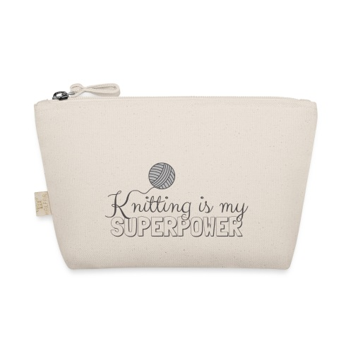 Knitting Is My Superpower - The Wee Pouch