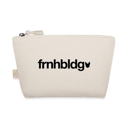 Französische Bulldogge Schriftzug mit Silhouette - Täschchen