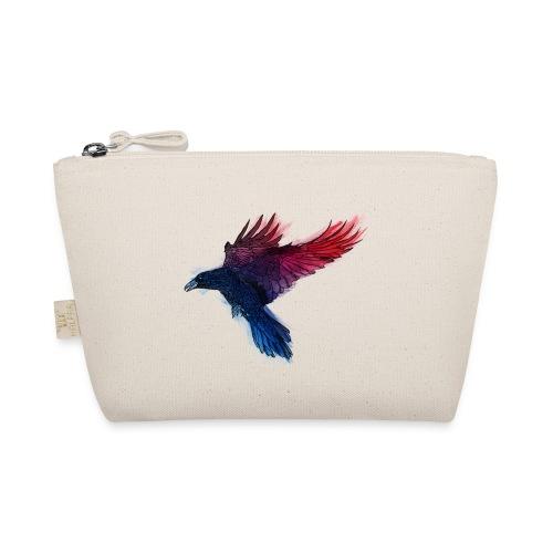 Watercolor Raven - Täschchen