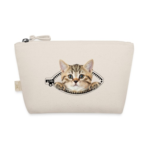 Vorschau: cat zipper pocket - Täschchen