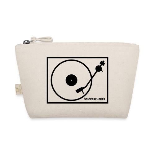 Schwarzhörer 2 Plattenspieler - Täschchen