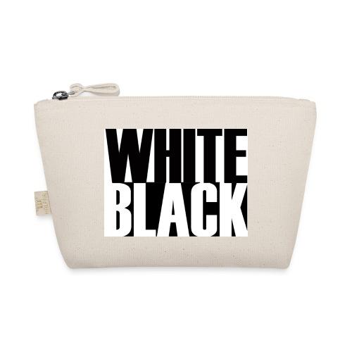 White, Black T-shirt - Tasje