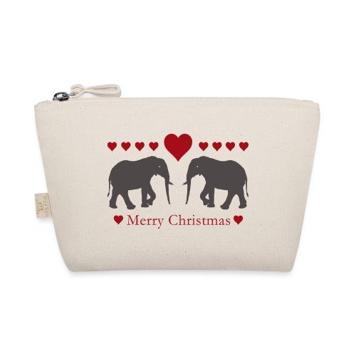 Afrika - Elefant - Weihnachten - Liebe - Täschchen