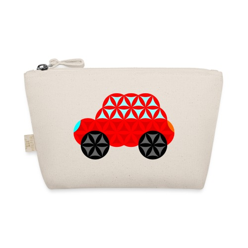 The Car Of Life - M01, Sacred Shapes, Red/R01. - The Wee Pouch