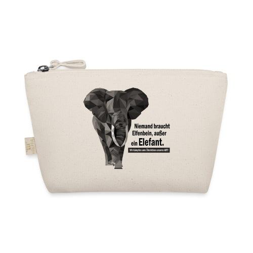 Niemand braucht Elfenbein, außer ein Elefant! - Täschchen