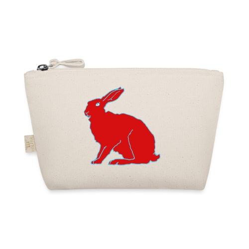 Roter Hase - Täschchen
