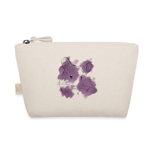 Violet splash chinchilla - Pikkulaukku