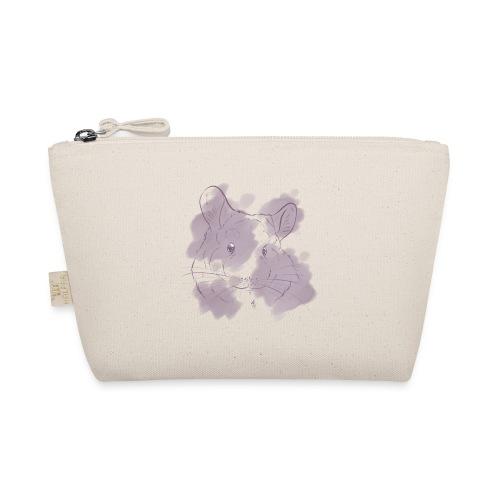 Violet splash chinchilla 2 - Pikkulaukku