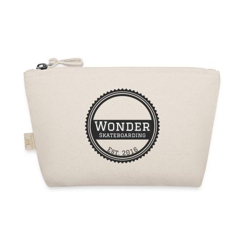 Wonder unisex-shirt round logo - Små stofpunge