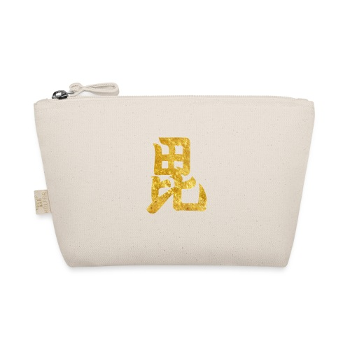 Uesugi Mon Japanese samurai clan in gold - The Wee Pouch