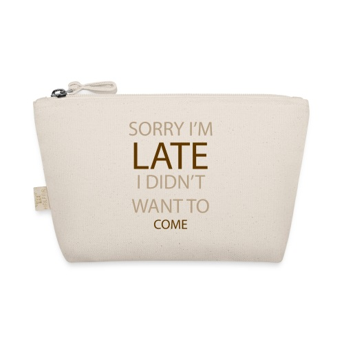 Sorry im late - Små stofpunge