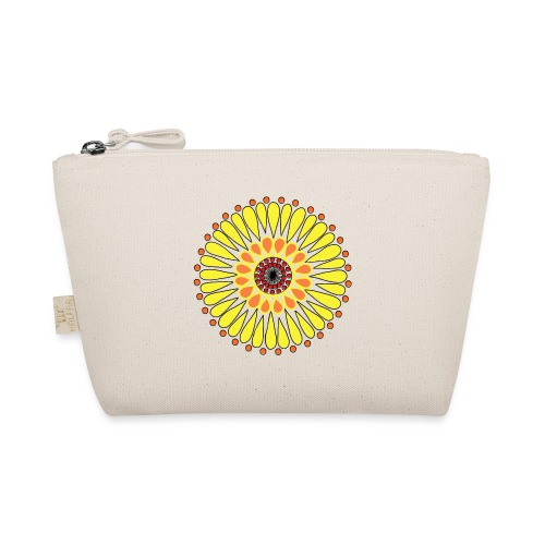 Yellow Sunflower Mandala - The Wee Pouch