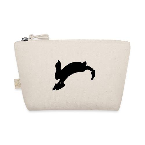 Bunny_Logo_Black - Små stofpunge