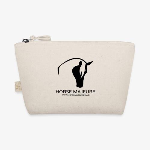 Horse Majeure Logo / Musta - Pikkulaukku