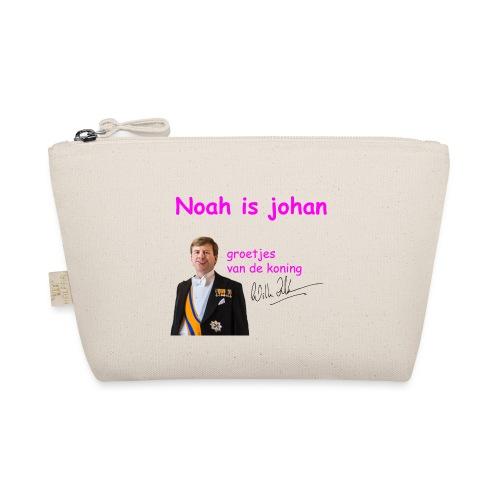 Noah is een echte Johan - Tasje
