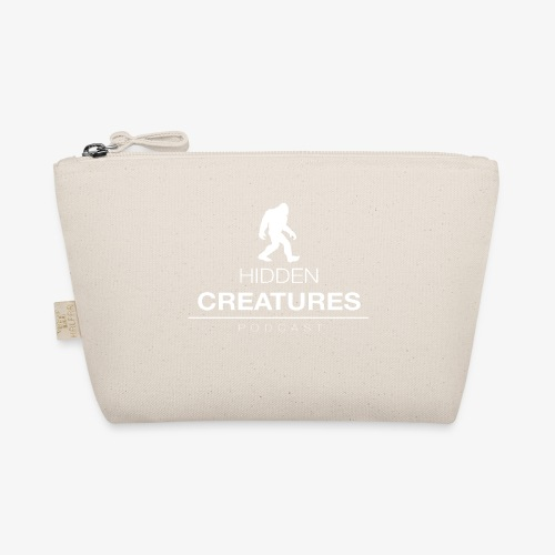 Hidden Creatures Logo White - The Wee Pouch