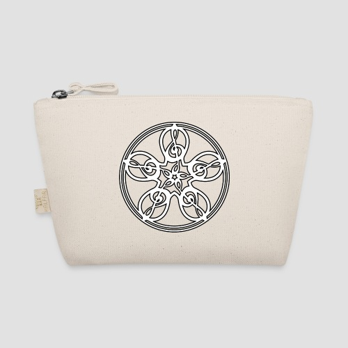 Treble Clef Mandala (white/black outline) - The Wee Pouch