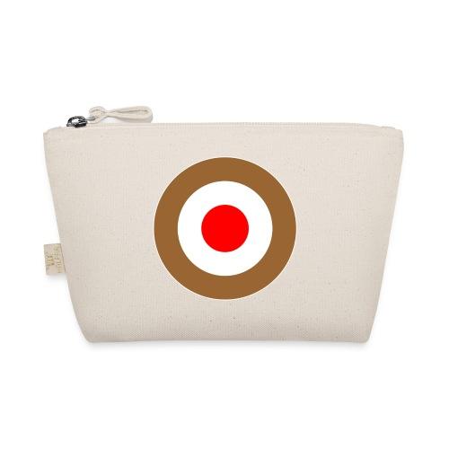 Hamburg Braun Weiss Rot Mod Target DigitalDirekt - Täschchen