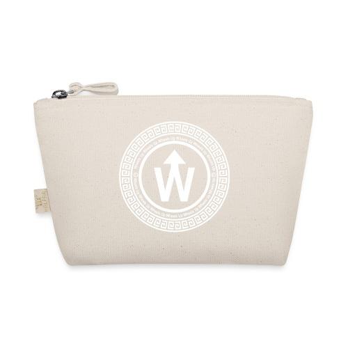 wit logo transparante achtergrond - Tasje