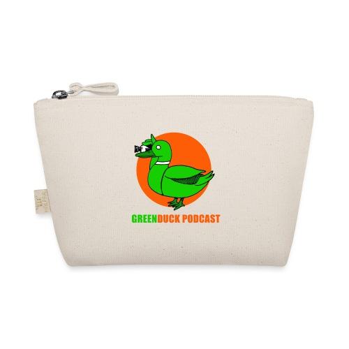 Greenduck Podcast Logo - Små stofpunge