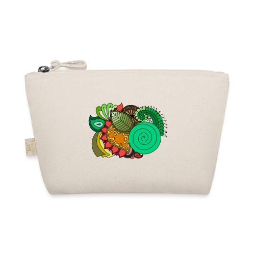 Coloured Leaf Mandala - The Wee Pouch