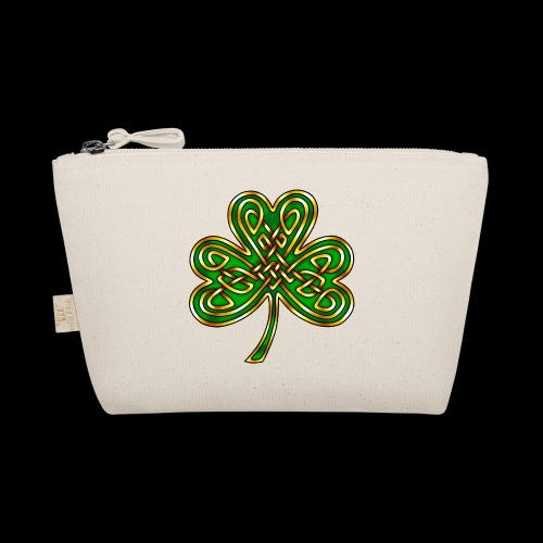 Celtic Knotwork Shamrock - The Wee Pouch