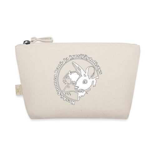 KSKJY logo- Valko-musta - Pikkulaukku