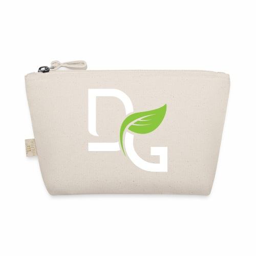 DrGreen Logo Symbol weiss grün - Täschchen