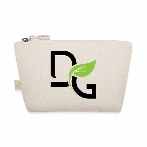 DrGreen Logo Symbol schwarz grün - Täschchen