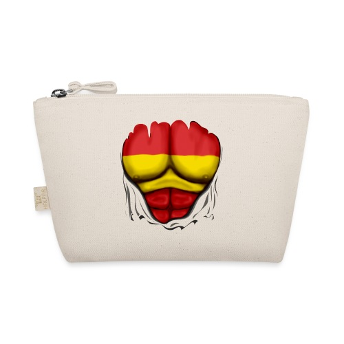 España Flag Ripped Muscles six pack chest t-shirt - The Wee Pouch