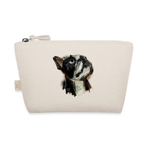Französische Bulldogge Zeichnung - Täschchen