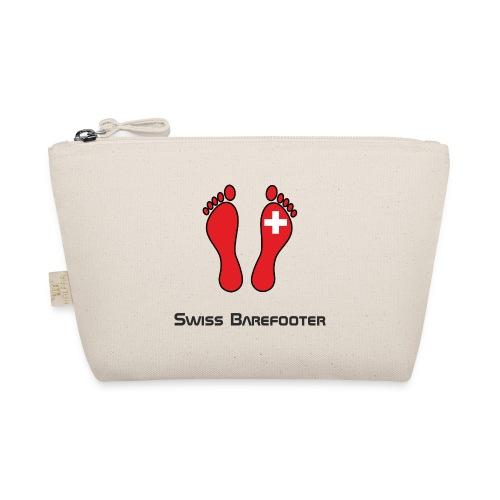 Swiss Barefooter Logo mit Schrift Space - Täschchen