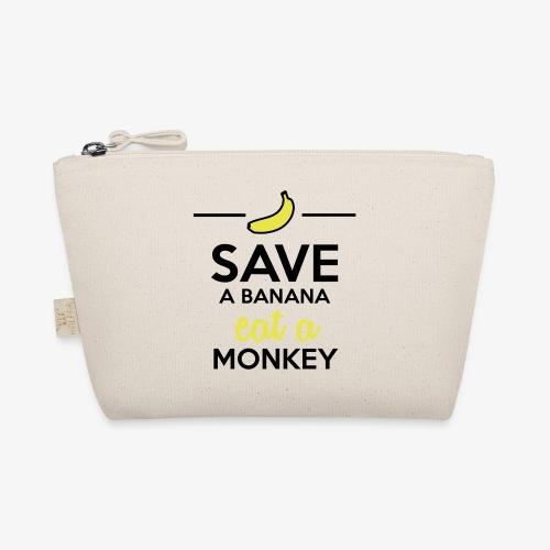 Essen Affen & Bananen - Save a Banana eat a Monkey - Täschchen